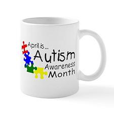 April Is Autism Awareness Month Mug