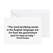 """Ronald Reagan"" Greeting Card"