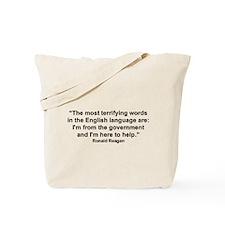 """""""Ronald Reagan"""" Tote Bag"""