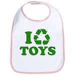 I Recycle Toys Bib