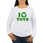 I Recycle Toys Women's Long Sleeve T-Shirt