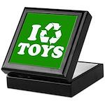 I Recycle Toys Keepsake Box