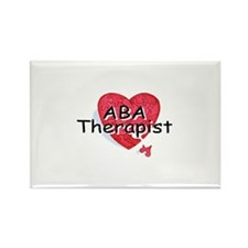 ABA Therapist Rectangle Magnet