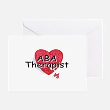 ABA Therapist Greeting Card