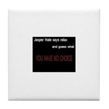 Cute Jasper hale Tile Coaster