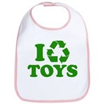 I Recycle Toys Bib