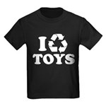 I Recycle Toys Kids Dark T-Shirt