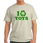 I Recycle Toys Light T-Shirt