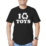 I Recycle Toys Men's Fitted T-Shirt (dark)