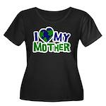 I Heart My Mother Earth Women's Plus Size Scoop Ne