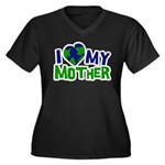 I Heart My Mother Earth Women's Plus Size V-Neck D