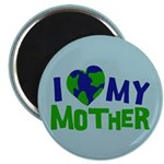 "I Heart My Mother Earth 2.25"" Magnet (100 pack)"