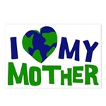 I Heart My Mother Earth Postcards (Package of 8)
