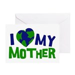 I Heart My Mother Earth Greeting Card