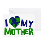 I Heart My Mother Earth Greeting Cards (Pk of 10)