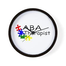 ABA Therapist Wall Clock