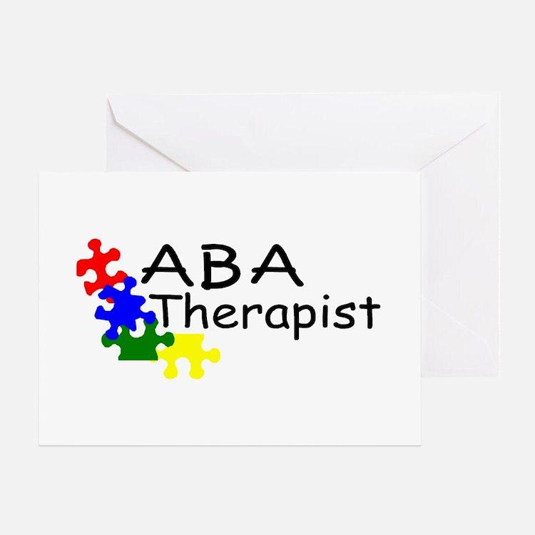 ABA Therapist Greeting Card