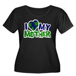 I Heart My Mother Earth Women's Plus Size Scoop Ne