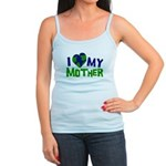 I Heart My Mother Earth Jr. Spaghetti Tank