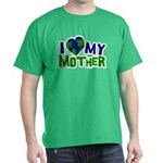 I Heart My Mother Earth Dark T-Shirt