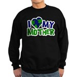 I Heart My Mother Earth Sweatshirt (dark)