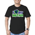 I Heart My Mother Earth Men's Fitted T-Shirt (dark
