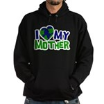I Heart My Mother Earth Hoodie (dark)