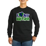 I Heart My Mother Earth Long Sleeve Dark T-Shirt
