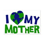 I Heart My Mother Earth Mini Poster Print
