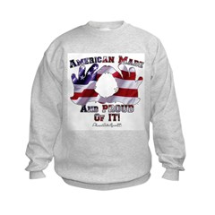 Hand Sign Flag Sweatshirt