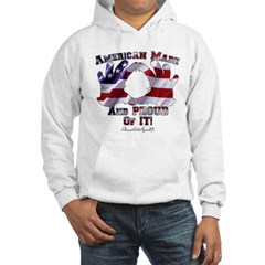 Hand Sign Flag Hoodie