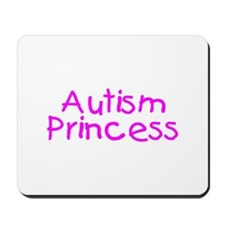 Autism Princess Mousepad