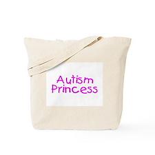 Autism Princess Tote Bag