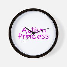 Autism Princess Wall Clock