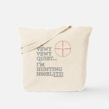 Hunting N00bl3ts Tote Bag