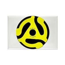 Vinyl Lives Rectangle Magnet