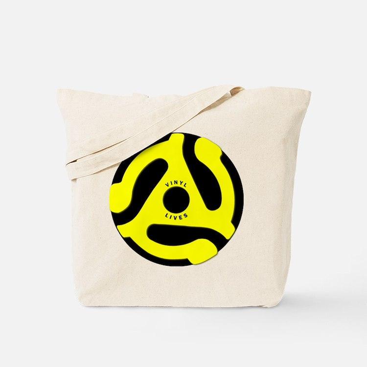 Vinyl Lives Tote Bag