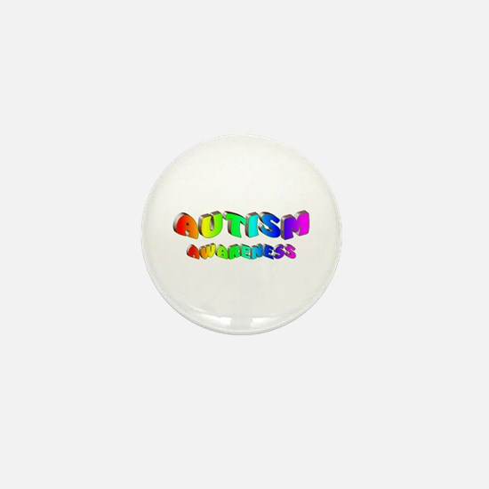 Autism Awareness Mini Button