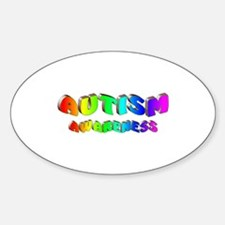 Autism Awareness Oval Decal
