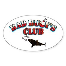 Bad Buoy's Club Oval Decal