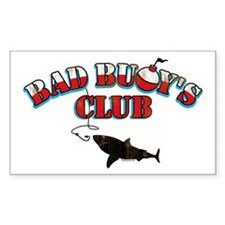 Bad Buoy's Club Rectangle Decal