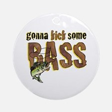 Kick Bass Ornament (Round)