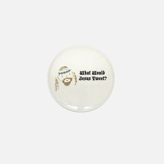 What Would Jesus Tweet? Mini Button