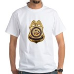 BIA Police Officer White T-Shirt