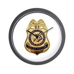 BIA Police Officer Wall Clock
