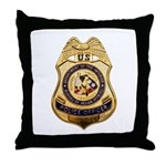 BIA Police Officer Throw Pillow
