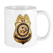 BIA Police Officer Mug