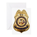 BIA Police Officer Greeting Cards (Pk of 20)