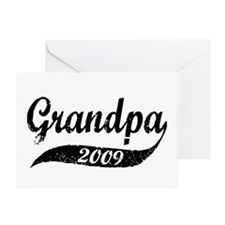 New Grandpa 2009 Greeting Card