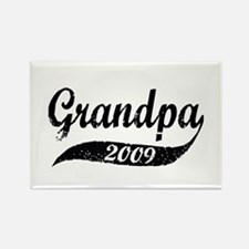 New Grandpa 2009 Rectangle Magnet